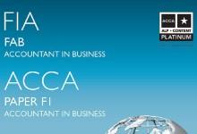 ACCA电子教材及练习册